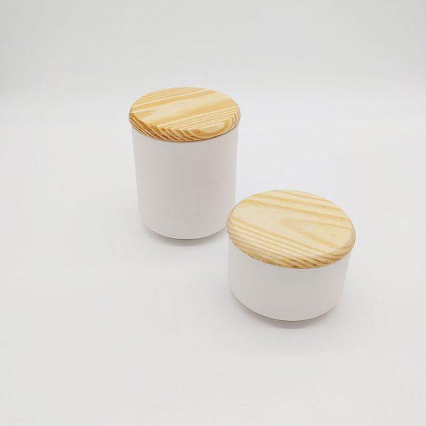 Vorratsdosen-Holzdeckel