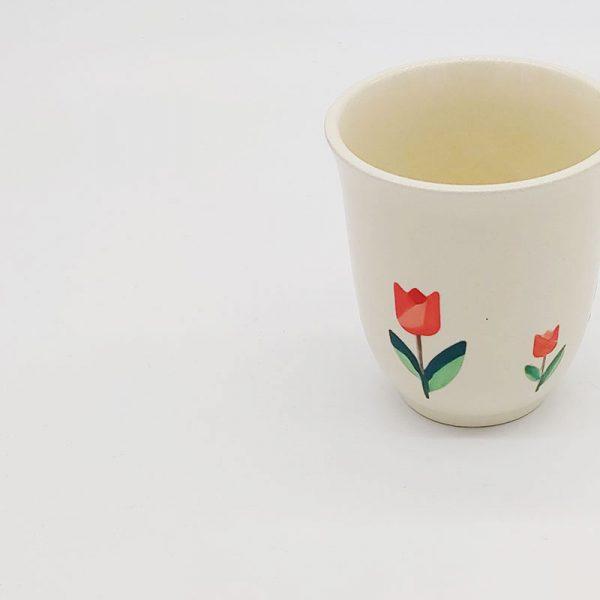 stilisierte-Tulpen Aufkleber